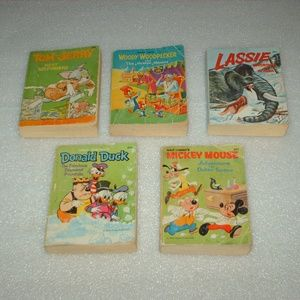 Collection of 1967 Whitman Big Little Books Disney